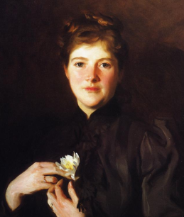 HarrietHemenway in a painting by John Singer Sargant