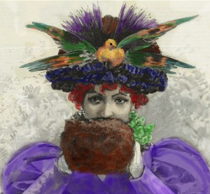 historical novelchapeau wanda hat bird 1895 e1359426862487 300x277 Edwardian Hat Fashion Goes to the Birds