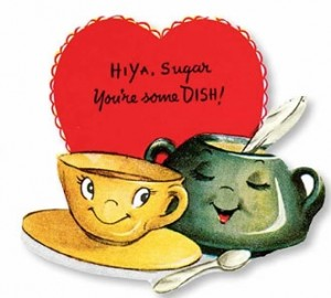 Valentine-dish