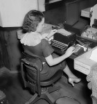 historical novelwoman at typewriter cropped 140x150 Vintage Clothing Stores in Los Angeles with Mom
