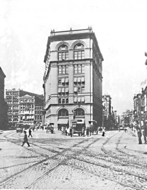 Astor Place in 1892