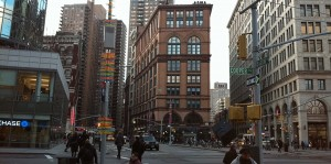 Astor Place present day