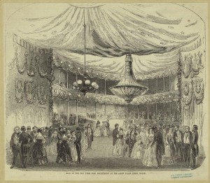 historical novelAstor Place Opera House Ball 300x262 When Astor Place was a Riot