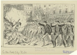 historical novelAstor Place Riots from 1887 300x215 When Astor Place was a Riot