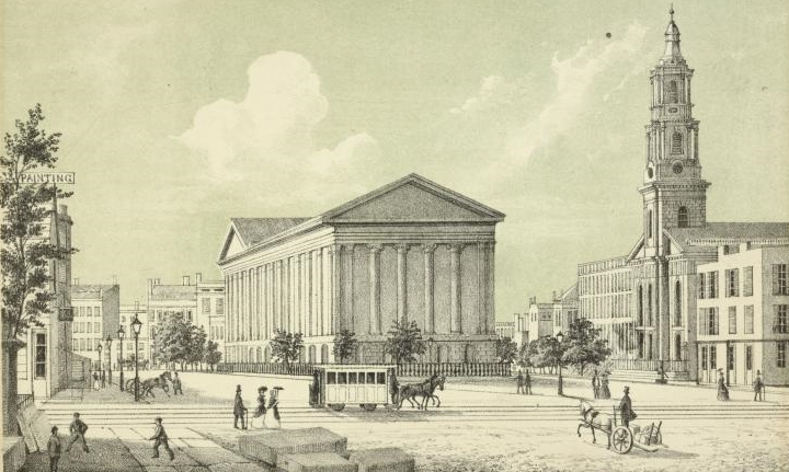 historical novelAstor Place Theatre 1850 cropped When Astor Place was a Riot