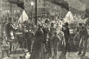 historical novelBowery night 1871 cropped 300x199 When Astor Place was a Riot