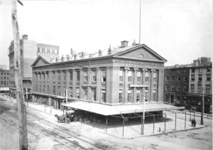 historical novelClinton Hall 1891 300x211 When Astor Place was a Riot