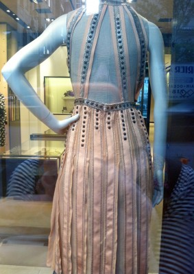 Bottega Veneta Dress from Behind