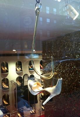 Christian Louboutin Shoe on a Hook