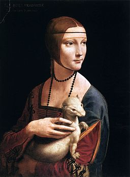 historical novelLeonardo da Vinci   Portrait of Cecilia Gallerani Lady with an Ermine Q & A with historical author Joanne Lewis