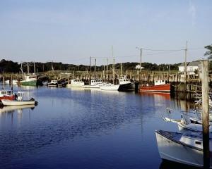 Orleans Harbor, Cape Cod, Massachusetts