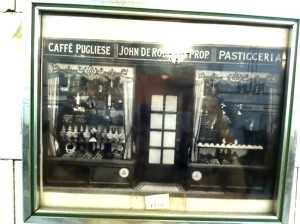 Photograph of De Robertis when it was also Caffe Pugliese