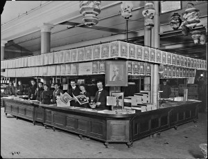 Sheet Music Counter in Siegel Cooper
