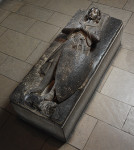Tomb of a French knight from the 13th Century