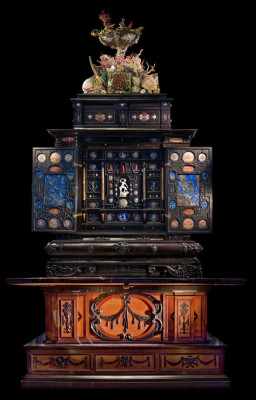 The Augsburg Cabinet of Curiosities -- gift to King Gustav II