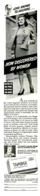 Tampax Advertisement in Life Magazine 1938