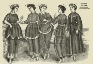 Bathing Dresses 1858