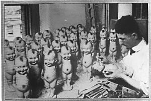 Making Kewpie Dolls